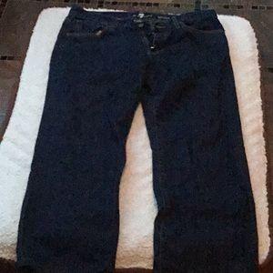 7 For All Mankind 33 men's Austyn dark wash jeans